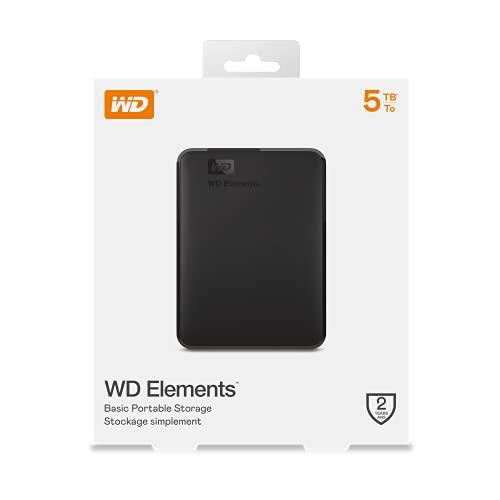 WD Elements Portable , externe Festplatte – 5 TB – USB 3.0 – WDBU6Y0050BBK-WESN - 10