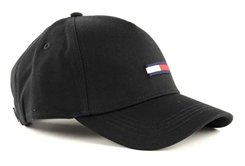 Tommy Hilfiger Kappe Cap Baseballcap TJU Flag Cap M OneSize Schwarz AU0AU00843