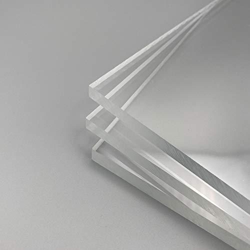 Acrylglas XT Plexiglas Zuschnitt Größe wählbar Platte Scheibe transparent 3mm 4mm 5mm 6mm 8mm Stärke 24h Versand (6mm, 400x600 mm)