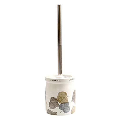 Guuisad Inicio Cepillo de inodoro, Set de la cepillo de inodoro Conjunto de cepillo de inodoro Conjunto de cepillo de inodoro Limpieza de cerámica Limpieza de cepillo Impresión de color antideslizante