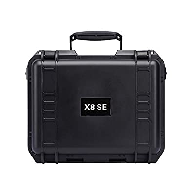 Zhaowei Weatherproof Waterproof Hard Carrying Case Military Spec for XIAOMI X8 SE Quadcopter Drone