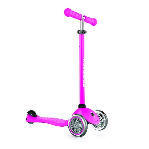 authentic sports & toys GmbH Mädchen GLOBBER Primo Dreiradscooter, pink, one Size