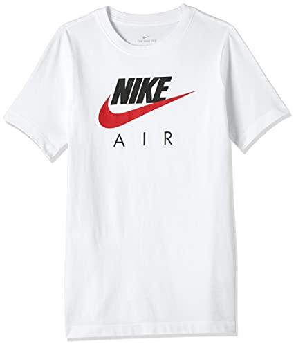 Nike Air Fa20 1, T-Shirt Bambino, White/University Red, 140