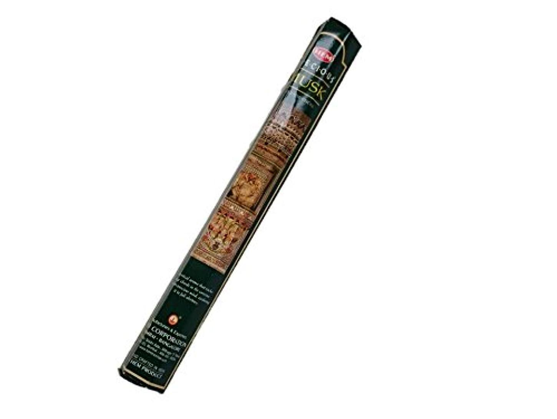 爬虫類なめる周辺HEM(ヘム)お香:プレシャスムスク スティックお香/インセンス/1箱