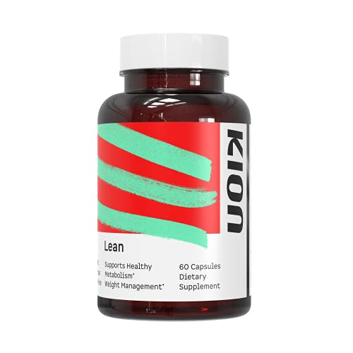 Kion Lean | Natural Support for Weight Management, Metabolic Wellness, and Blood Sugar Levels | 30 Servings