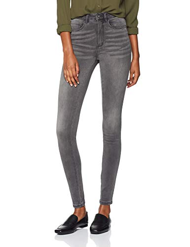 ONLY NOS Damen Skinny Onlroyal High SK Dnm Jeans BJ312 Noos, Grau (Dark Grey Denim), W32/L34 (Herstellergröße: XL)