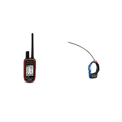 Garmin Alpha 100 GPS Track and Train Handheld Bundle with Garmin T5 GPS Dog Collar