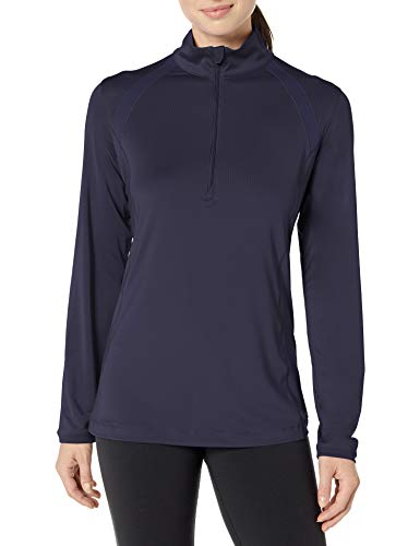 Cutter & Buck Women's Cb Drytec 50+ UPF Williams Half-Zip, Liberty Navy, M