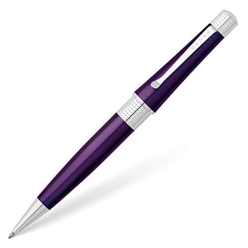 Cross Beverly Kugelschreiber (Strichstärke M, Schreibfarbe: Schwarz) 1 Stück violett lack