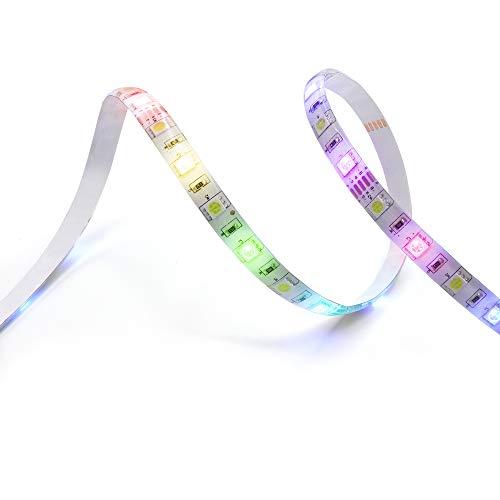 Fita de LED HI by Geonav Inteligente Wi-Fi, Branco Quente, RGB, 1440 lúmens, 3 metros, Bivolt, HILS3M, compatível com Alexa
