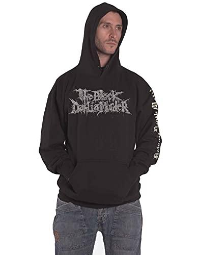 The Black Dahlia Murder Sudadera con capucha Detroit Band Logo Oficial Hombre Negro Pullover, Negro, X-Large