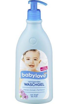 babylove Waschgel reinigend, 0,5 l