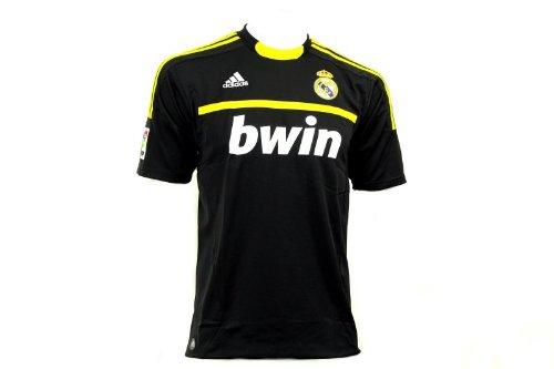 Adidas REAL A GK JSY Camiseta Negro Amarillo Real Madrid Portero para...