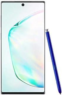 هاتف جالكسي نوت 10 من سامسونج ثنائي شرائح الاتصال - بذاكرة سعة 256 جيجا وذاكرة رام 8 جيجا من الجيل الرابع ال تي اي 6.3 Inch SM-N970FZSDKSA