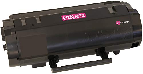 Toner Compatibile per Lexmark 60F2000 60F200E MX310 MX410 MX510 MX511 MX610 MX611 MX310dn MX410de MX510de MX511de MX511dhe MX511dte MX611de MX611dhe MX611dte | 2.500 Pagine | Nero