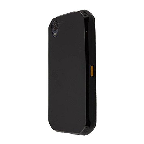 caseroxx TPU-Hülle für Cat S41, Tasche (TPU-Hülle in schwarz)