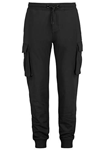 Sublevel Jogginghose im Cargo-Look Sweat Hose Jogger Black XL