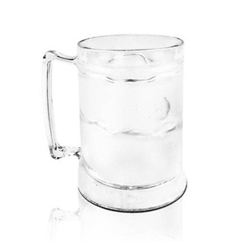 Caneca Acrílica para Cerveja/Chopp com Gel Congelante KrystalON 400ml