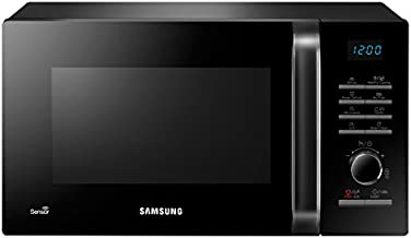 Samsung MG23H3125XK Encimera 23L 800W Negro - Microondas (Encimera, 23 L, 800 W, Botones, Giratorio, Negro, Electrónico)