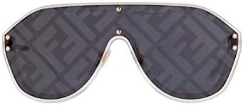 Fendi Men's Fabulous Shield Sunglasses
