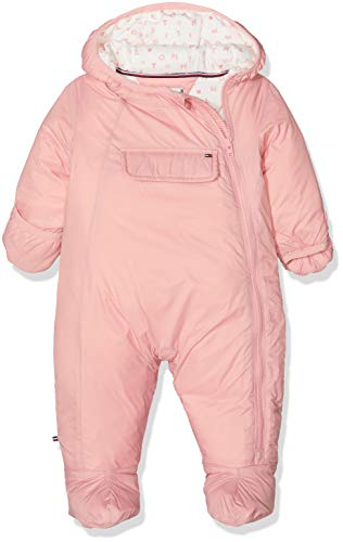 Tommy Hilfiger Tommy Hilfiger Unisex Baby SKISUIT Bekleidungsset, Rosa (Blush 610), 62