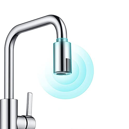 Grifo Universal Sensor Inteligente Grifos De Cocina Sensor De Ahorro De Agua Grifo Sin Contacto Adaptador De Sensor Infrarrojo Para Grifo De Sensor De Baño De Cocina