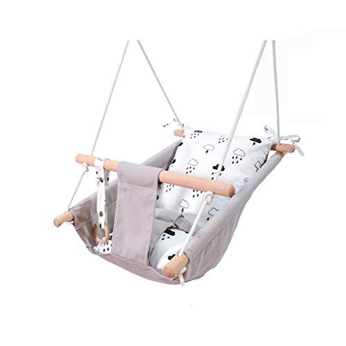 YLJJ Europäischer und amerikanischer Baby-Hängesessel, Kinder im Innenbereich, die auf Einer Schaukel schlafen, Style-1,70 * 45 * 25 cm