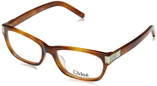 CHLOÉ CE2604 brilmontuur CE2604 Chloe rechthoekig brilmontuur 52, bruin