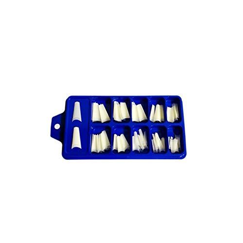 100 / 500PCS C-Kurve Französisch Well-less False Nail Tips Wasserpfeife Half Cover Künstliche Nail Art Acryl Gel Tips Damenmode-100pcs natural-