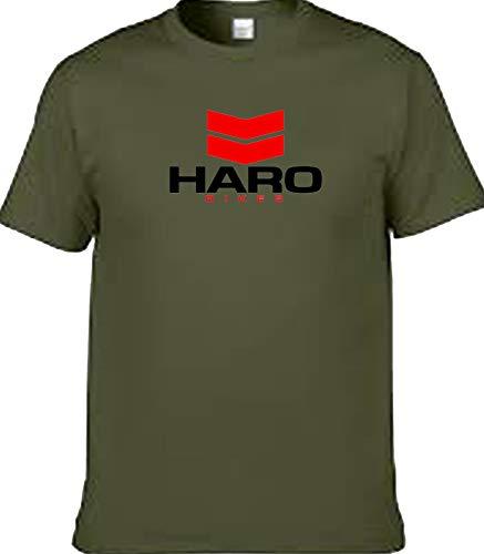 veedub abbigliamento HARO BMX Bike t Shirt Verde militare M