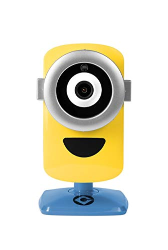 Despicable Me 3 - Minion Cam Hd Wi-Fi Surveillance Camera with Night Vision and 2-Way Talk, Yellow/Blue (MinionCam) (Limited Edition)