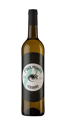 7 PULGADAS Vino blanco Albariño D.O Rias Baixas - Pack 6 botellas x 75 cl