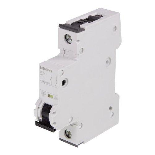 Siemens 5SY4102-6 Leitungsschutzschalter, 1 Polig, 2 A