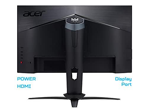 Predator XB273GXbmiiprzx Gaming G-SYNC Compatible 27 Zoll IPS FHD Display (1920x1080),240Hz,400 cd/m2, Fast LC 1ms (G2G), 0.1ms (G2G Min.), HDMI(1.4), DP, USB 3.0, integrierte Lautsprecher, ZeroFrame