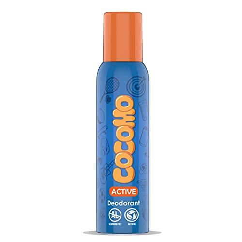 Cocomo Active Deodorant For Girls With Aloe Vera & Dragon Fruit Natural & Safe Deodorant for Tweens & Teens 150 ml
