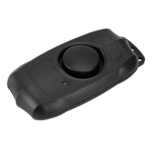 Pinsofy Bike-Thief Alarm, Alarma Ajustable de 5 Niveles de 100Db, Alarma de vibración de Bicicleta, Ajuste de 20M / desarmado/pánico/Timbre de Puerta de Gran Capacidad para Motocicleta Scooter
