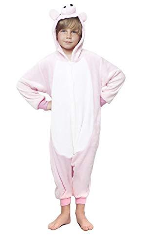 H HANSEL HOME Pijama Cerdo Entero Infantil niño niñas de Dibujos Animado Disfraces Animales...
