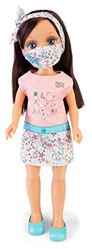 Nancy, un día con mascarilla Trendy, muñeca con mascarilla para niños y niñas a Partir de 3 años (Famosa 700016551)