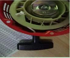 Starbun Arrancador de Retroceso Tirar-Motores Tirar arrancador de Retroceso generador de cortadora de césped Montaje de Arranque del Motor Apto para Honda Gx160 5,5 h