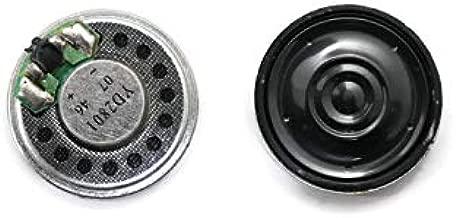 Electronicspices Aluminium Shell Internal Magnet Mini Speaker Loudspeaker (1.2 Inch) - Pack of 2