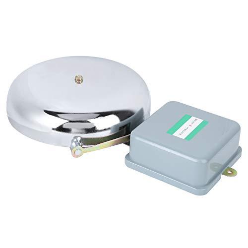 Timbre eléctrico, timbre de alarma, duradero, alta calidad, vida útil más larga,...