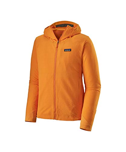 Patagonia M's R1 Techface Hoody Sweat-Shirt pour Homme L Mangue