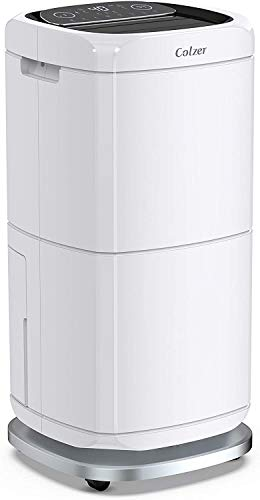 Best Review Of COLZER 140 Pints Commercial Dehumidifier 17 Gallons Large Capacity Dehumidifiers for ...