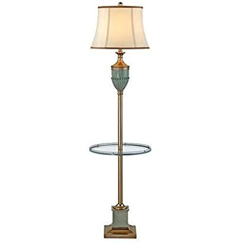 Stehlampen, Glasregal Stehend Lampe for Wohnzimmer Schlafzimmer Study Room Licht 23x164cm for Lesen