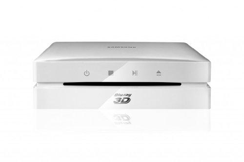 Samsung BD-ES6000 3D Blu-Ray-Player (HDMI, Upscaler 1080p, WiFi, USB) weiß