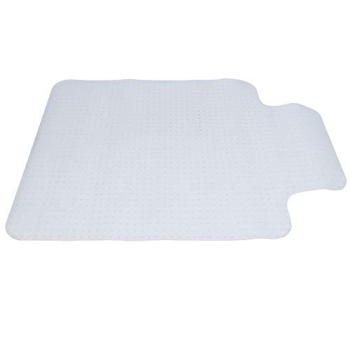Wakects Desk Chair Carpet Mat, T Shaped PVC Non-Slip Mat for Office Chair...
