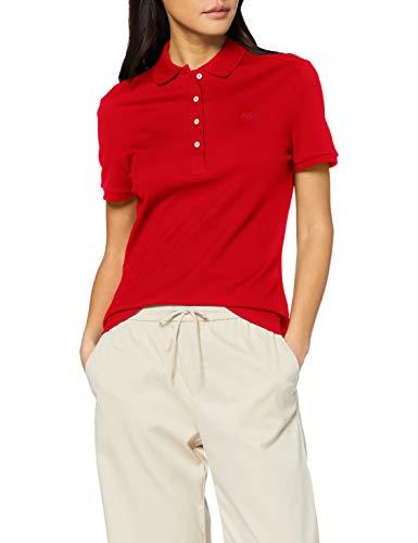 Lacoste Damen PF5462 Polohemd, Red, 36