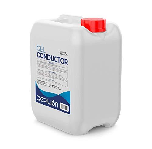 DEPILION Gel de ultrasonidos 5 litros / 5l Garrafas Gel Conductor Laser, Cavitacion, IPL