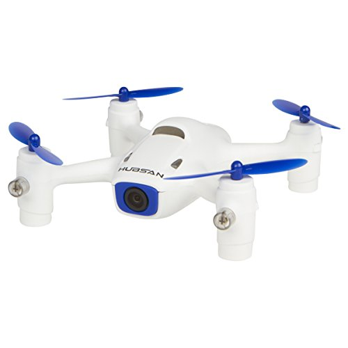 Hubsan H107C+ HD Drone Headless IOC Quadcopter with 720P HD Camera Altitude Hold And BONUS Battery Exclusive (Hubsan H107C) - Blue