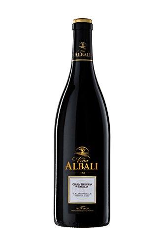 "Viña Albali Vino Tinto Autor GRAN RESERVA ""FAMILIA"" - Paquete de 3 x 750 ml - Total: 2250 ml"